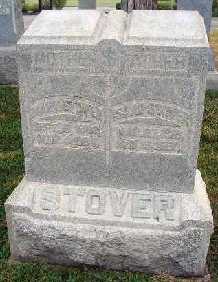 STOVER, MARY - Fairfield County, Ohio | MARY STOVER - Ohio Gravestone Photos