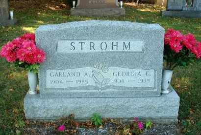 STROHM, GEORGIA C. - Fairfield County, Ohio | GEORGIA C. STROHM - Ohio Gravestone Photos