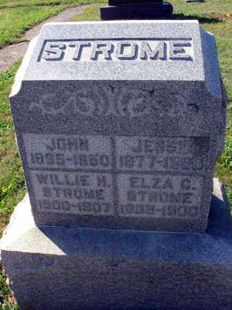 STROME, ELZA C. - Fairfield County, Ohio | ELZA C. STROME - Ohio Gravestone Photos