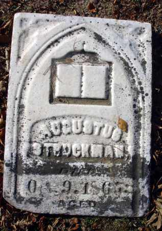 STRUCKMAN, AUGUSTUS - Fairfield County, Ohio | AUGUSTUS STRUCKMAN - Ohio Gravestone Photos