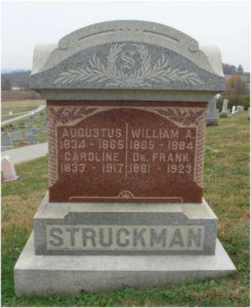 STRUCKMAN, FRANK - Fairfield County, Ohio | FRANK STRUCKMAN - Ohio Gravestone Photos