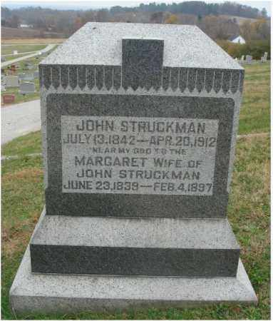 STRUCKMAN, JOHN - Fairfield County, Ohio | JOHN STRUCKMAN - Ohio Gravestone Photos