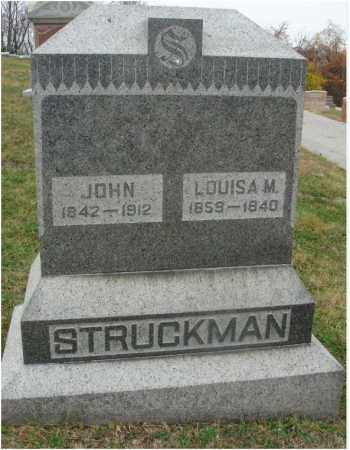 STRUCKMAN, LOUISA M. - Fairfield County, Ohio | LOUISA M. STRUCKMAN - Ohio Gravestone Photos