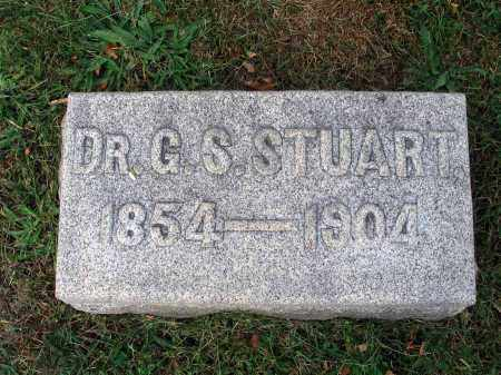 STUART, G. S. - Fairfield County, Ohio | G. S. STUART - Ohio Gravestone Photos