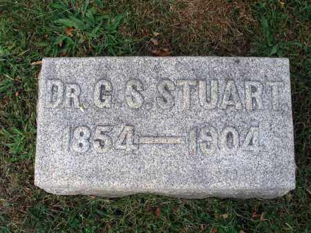 STUART, G. S. - Fairfield County, Ohio | G. S. STUART - Ohio Gravestone Photos
