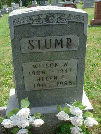 STUMP, WILSON W. - Fairfield County, Ohio | WILSON W. STUMP - Ohio Gravestone Photos