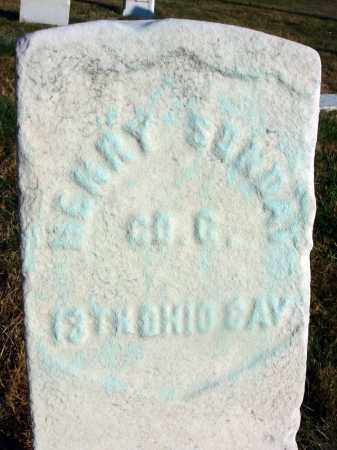 SUNDAY, HENRY - Fairfield County, Ohio | HENRY SUNDAY - Ohio Gravestone Photos