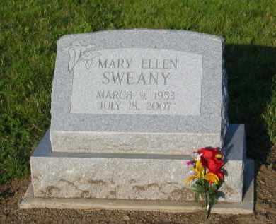 BURNS SWEANY, MARY ELLEN - Fairfield County, Ohio | MARY ELLEN BURNS SWEANY - Ohio Gravestone Photos