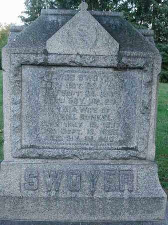 SWOYER, JACOB - Fairfield County, Ohio | JACOB SWOYER - Ohio Gravestone Photos