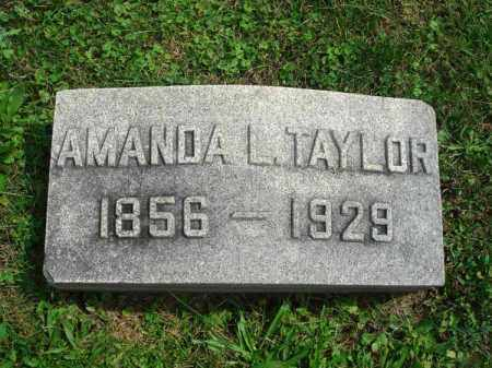 TAYLOR, AMANDA L. - Fairfield County, Ohio | AMANDA L. TAYLOR - Ohio Gravestone Photos