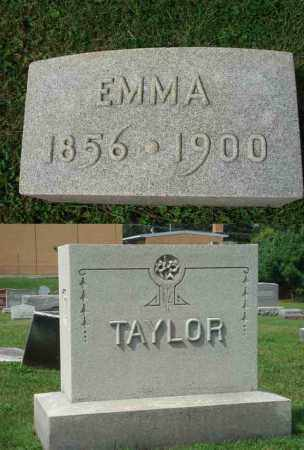 TAYLOR, EMMA - Fairfield County, Ohio | EMMA TAYLOR - Ohio Gravestone Photos