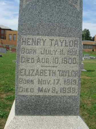 TAYLOR, HENRY - Fairfield County, Ohio | HENRY TAYLOR - Ohio Gravestone Photos