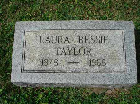 TAYLOR, LAURA BESSIE - Fairfield County, Ohio | LAURA BESSIE TAYLOR - Ohio Gravestone Photos