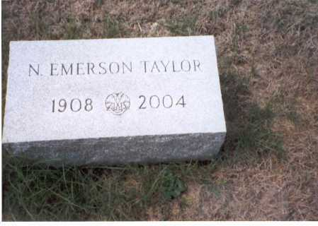 TAYLOR, N. EMERSON - Fairfield County, Ohio | N. EMERSON TAYLOR - Ohio Gravestone Photos