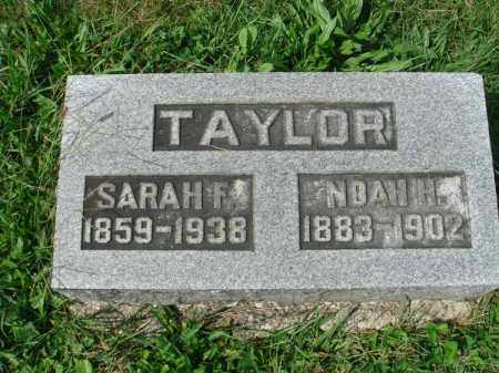 TAYLOR, SARAH F. - Fairfield County, Ohio | SARAH F. TAYLOR - Ohio Gravestone Photos