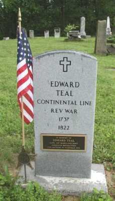 TEAL, EDWARD - Fairfield County, Ohio   EDWARD TEAL - Ohio Gravestone Photos