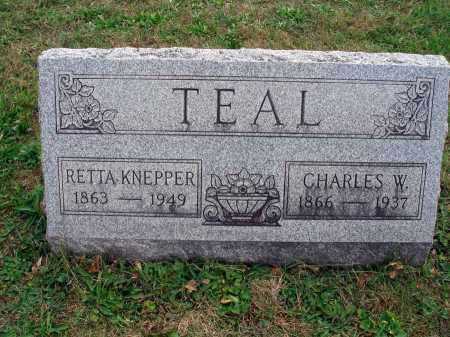 TEAL, RETTA - Fairfield County, Ohio | RETTA TEAL - Ohio Gravestone Photos