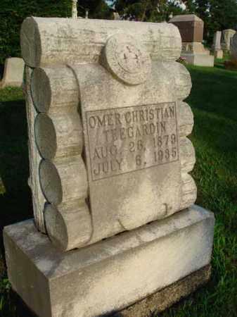 TEEGARDIN, OMER CHRISTIAN - Fairfield County, Ohio   OMER CHRISTIAN TEEGARDIN - Ohio Gravestone Photos
