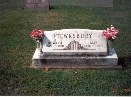 TEWKSBURY, HOWARD - Fairfield County, Ohio | HOWARD TEWKSBURY - Ohio Gravestone Photos