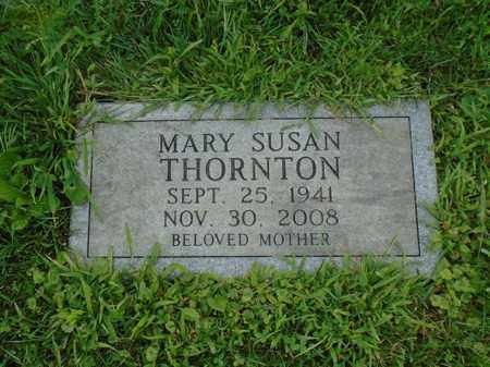 THORNTON, MARY SUSAN - Fairfield County, Ohio | MARY SUSAN THORNTON - Ohio Gravestone Photos