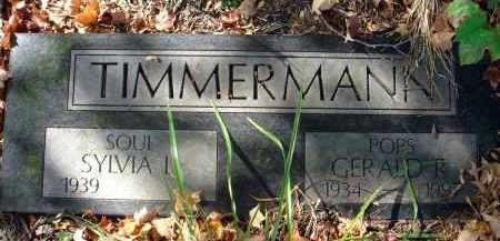 TIMMERMANN, GERALD R. - Fairfield County, Ohio | GERALD R. TIMMERMANN - Ohio Gravestone Photos