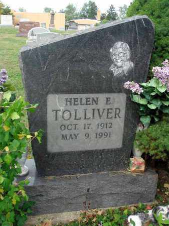 TOLLIVER, HELEN E. - Fairfield County, Ohio | HELEN E. TOLLIVER - Ohio Gravestone Photos
