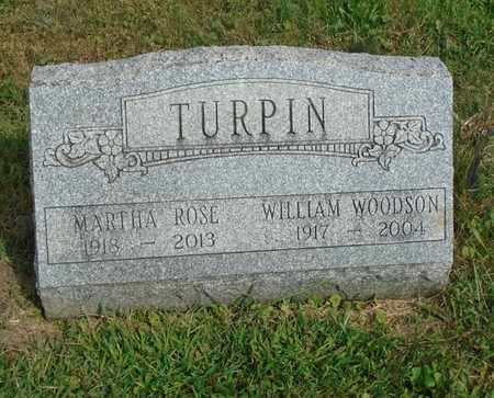 TURPIN, WILLIAM WOODSON - Fairfield County, Ohio | WILLIAM WOODSON TURPIN - Ohio Gravestone Photos