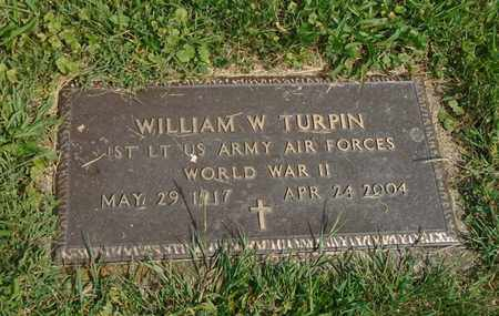 TURPIN, WILLIAM W - Fairfield County, Ohio | WILLIAM W TURPIN - Ohio Gravestone Photos