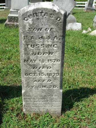 TUSSING, DURTAS D. - Fairfield County, Ohio | DURTAS D. TUSSING - Ohio Gravestone Photos
