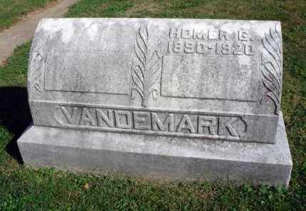 VANDEMARK, HOMER G. - Fairfield County, Ohio | HOMER G. VANDEMARK - Ohio Gravestone Photos