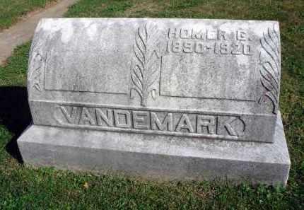 VANDEMARK, HOMER G. - Fairfield County, Ohio   HOMER G. VANDEMARK - Ohio Gravestone Photos