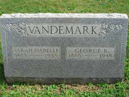 VANDEMARK, GEORGE B. - Fairfield County, Ohio | GEORGE B. VANDEMARK - Ohio Gravestone Photos