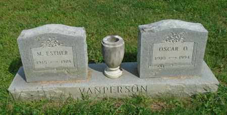 VANPERSON, OSCAR O. - Fairfield County, Ohio | OSCAR O. VANPERSON - Ohio Gravestone Photos