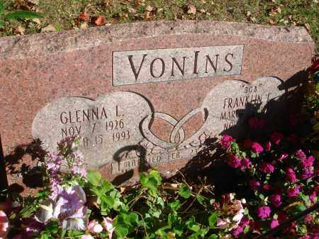 VON INS, GLENNA L. - Fairfield County, Ohio | GLENNA L. VON INS - Ohio Gravestone Photos