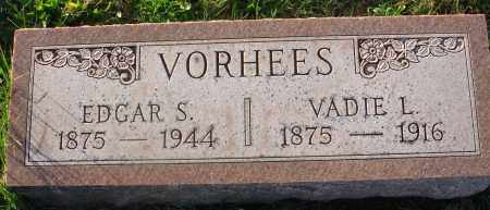 VORHEES, EDGAR S. - Fairfield County, Ohio | EDGAR S. VORHEES - Ohio Gravestone Photos