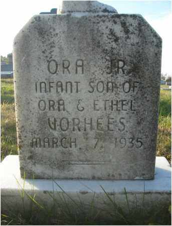 VORHEES, ORA - Fairfield County, Ohio | ORA VORHEES - Ohio Gravestone Photos