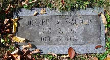WAGNER, JOSEPH A. - Fairfield County, Ohio | JOSEPH A. WAGNER - Ohio Gravestone Photos
