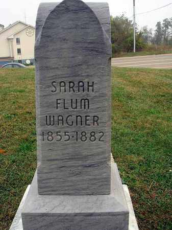 WAGNER, SARAH - Fairfield County, Ohio | SARAH WAGNER - Ohio Gravestone Photos
