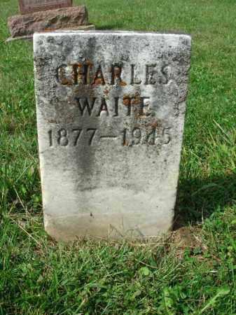 WAITE, CHARLES - Fairfield County, Ohio | CHARLES WAITE - Ohio Gravestone Photos