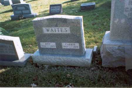 WAITES, ROY - Fairfield County, Ohio | ROY WAITES - Ohio Gravestone Photos