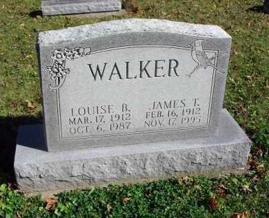 WALKER, JAMES T. - Fairfield County, Ohio | JAMES T. WALKER - Ohio Gravestone Photos