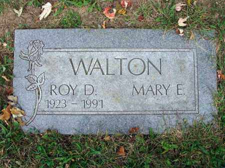WALTON, ROY D. - Fairfield County, Ohio | ROY D. WALTON - Ohio Gravestone Photos