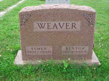 WEAVER, ELMER - Fairfield County, Ohio | ELMER WEAVER - Ohio Gravestone Photos