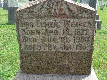 WEAVER, MRS. ELMER - Fairfield County, Ohio | MRS. ELMER WEAVER - Ohio Gravestone Photos