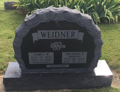 BARRINGER WEIDNER, VIRGINIA P. - Fairfield County, Ohio | VIRGINIA P. BARRINGER WEIDNER - Ohio Gravestone Photos