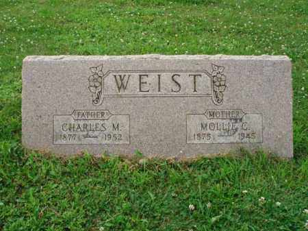 WEIST, CHARLES M. - Fairfield County, Ohio | CHARLES M. WEIST - Ohio Gravestone Photos