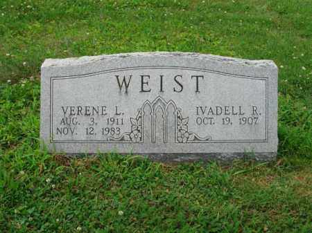 WEIST, IVADELL R. - Fairfield County, Ohio | IVADELL R. WEIST - Ohio Gravestone Photos