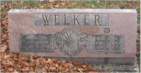 WELKER, WILLIS E. - Fairfield County, Ohio | WILLIS E. WELKER - Ohio Gravestone Photos