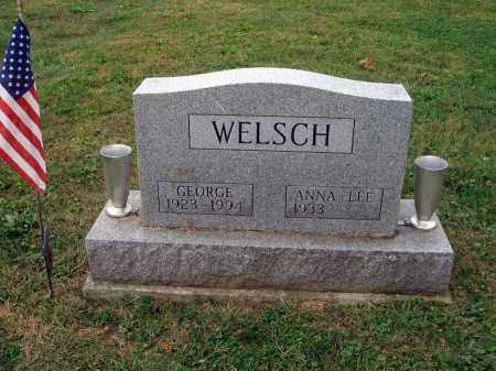 WELSCH, GEORGE - Fairfield County, Ohio | GEORGE WELSCH - Ohio Gravestone Photos