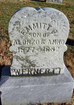 WERNERTT, EMITT - Fairfield County, Ohio | EMITT WERNERTT - Ohio Gravestone Photos